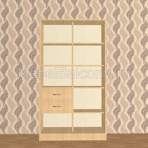 Шкаф двухсекционный с ящиками